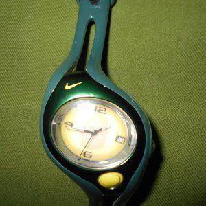 U of Oregon Nike Green and Yellow Team Watch